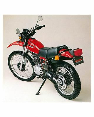 1981 Honda XL250S Motorcycle Photo Poster zm0910-YSXZFI
