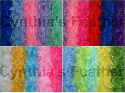 45 Grams Chandelle Feather Boa, Solid Colors  20+ Colors to Pick up From, NEW