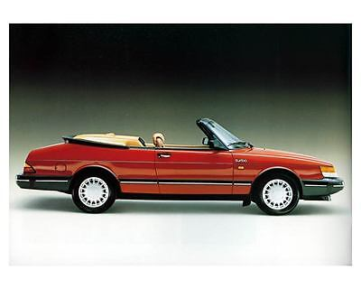 1988 Saab 900 Turbo Convertible Photo Poster zm1072-I2VP7S