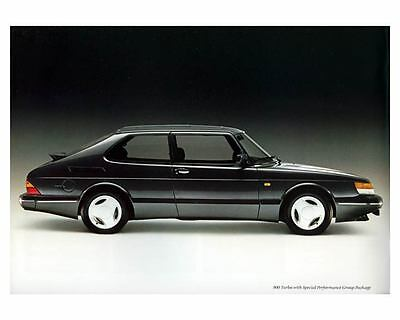 1988 Saab 900 Turbo Automobile Photo Poster zm1073-3QMTK6