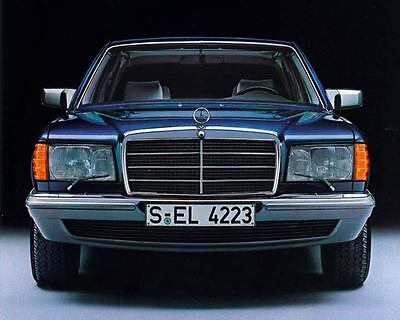 1984 1985 Mercedes Benz 500SEL Automobile Photo Poster zm1089-57YZSQ