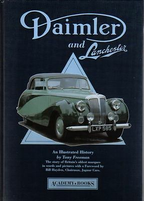 Daimler & Lanchester Illustrated History by Freeman inc. Chassis Types 1936-1990