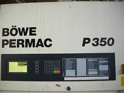 Bowe Permac Computer Only P350 Tested Working