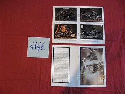 N°4146  / HARLEY DAVIDSON : catalogue gamme 1993   english text