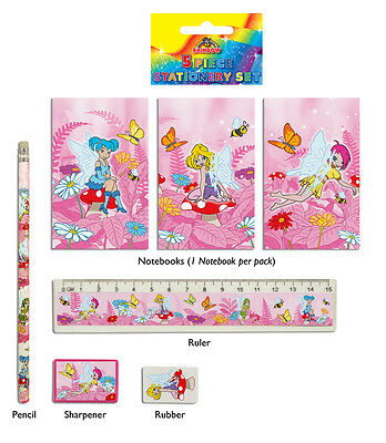 FAIRY STATIONERY SET  x 24. PARTY BAG FILLERS. WHOLESALE JOB LOT.