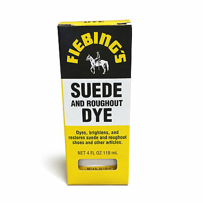 Fiebing's Leathercraft Suede Dye 4oz Bottles Suede Leather Color