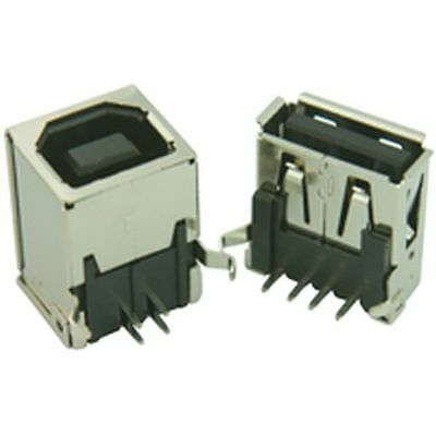 USB Socket Connector Type B (Pack of 3)