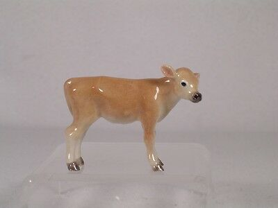 Northern Rose Miniature Porcelain 'Jersey Calf' Cow Figurine  #R293  NEW!