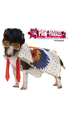 Rock N Roll Elvis King Pet Dog Costume