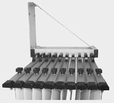 Draftex Architectural  Plan Wall Rack, 10 Clamp capacity,  (DWR1000)