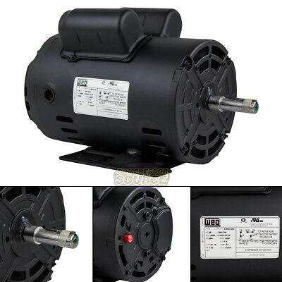 3 HP Horse Power 1 PH Single Phase Heavy Duty Electric Compressor Motor 10698252