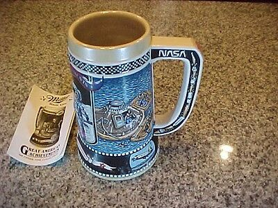 Miller Brewing Beer Stein Great American Achievements Fifth In Series