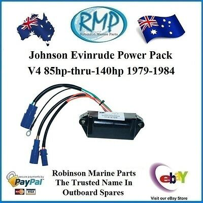 A Brand New Evinrude Johnson Outboard Motor Power Pack  V4 1978-1984 # 582125