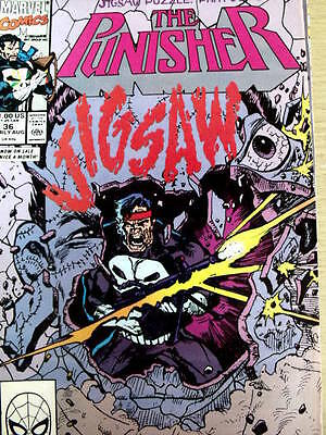 The Punisher n°36 1990 Part 2 of 6 ed. Marvel Comics  [G.148]