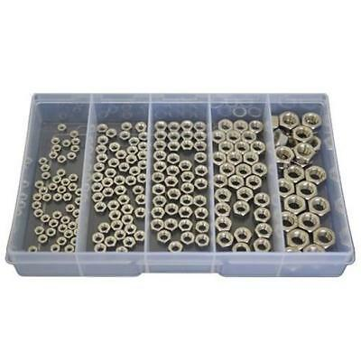 Kit Size 190 Hex Nut M3 M4 M5 M6 M8 Stainless Steel Marine Grade Boat G316 #172