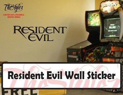 Resident Evil Wall Vinyl Sticker