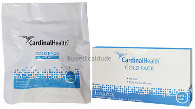 "50 Instant Ice Packs 5"" x 5.5"" Disposable Cold Therapy First Aid Treatment inBox"