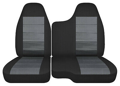 Swell 60 40 35 Bench Seat Black Charcoal Car Seat Covers Fits Pabps2019 Chair Design Images Pabps2019Com
