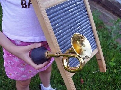 MINI BRASS BULB HORN w/Free Mouthpiece (limited time offer!)