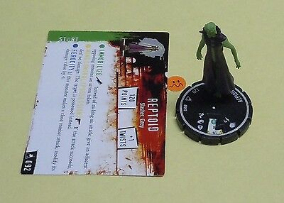 Horrorclix The Lab Reptoid #092 NEW 92 Unique from Set Booster Pack