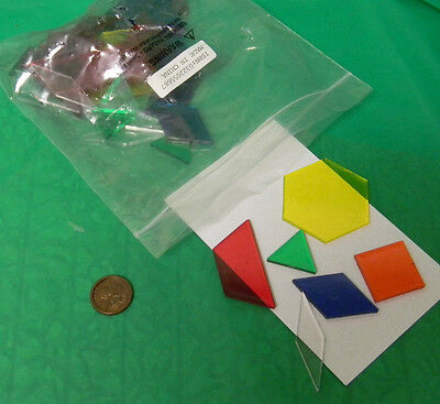 Patten blocks for the overhead projector- all can see- 75% off
