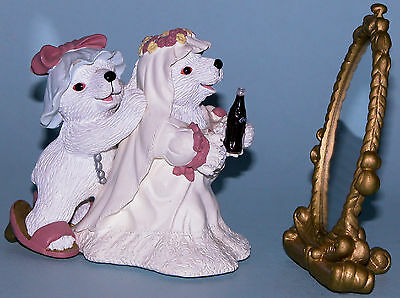 "Coca Cola Heritage Collection, Cavanaugh ""Friends Double Joy"" Polar Bear, bride"