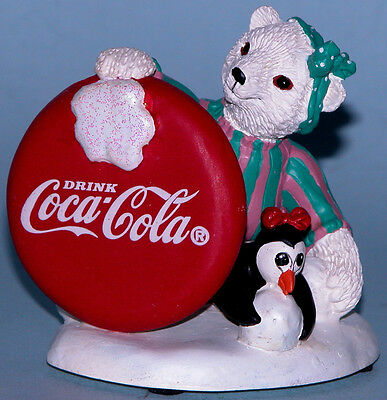 "Coca Cola Heritage Collection Cavanaugh ""Who says Girls Can't Throw"" w penguin"