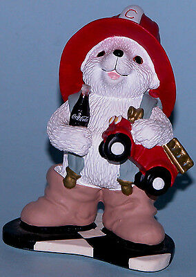 "Coca Cola Heritage Collection Cavanaugh ""Big Chief"" fireman polar bear"
