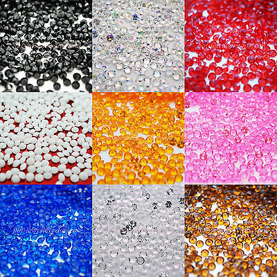 2000 Diamond Table Confetti Wedding Crystal Scatter Decoration Acrylic Gem Party