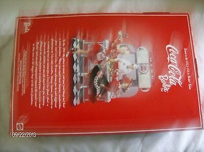 1999 COCA-COLA Barbie Series Brunette Sweetheart - Coke Fountain Poodle Skirt #2