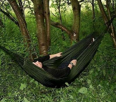 ARMY TREKKER HAMMOCK olive Travel bed wild camping backpacking Military tree bed