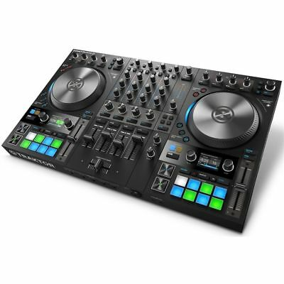 Native Instruments TRAKTOR KONTROL S4 MK2 midi controller Traktor 2.6 Pc Mac NEW