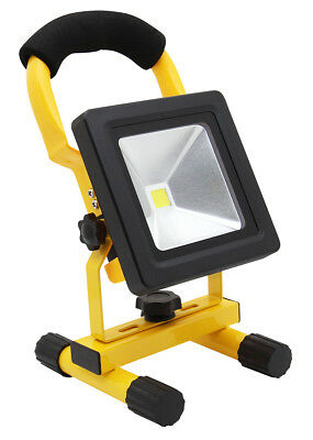 10w Portable LED Work Torch Light Rechargeable Flood Light IP65 12v LED Light