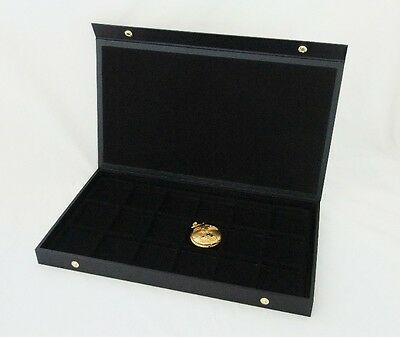 Pocket Watch/ Jewelry 18 Slot Textured Top Display