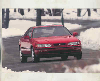 1991 Acura Legend Coupe Large Factory Postcard mx8542