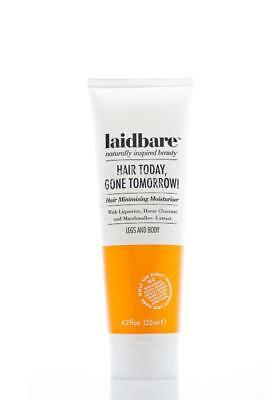 Laid Bare Hair Today, Gone Tomorrow! 125ml natural inhibit hair growth stop