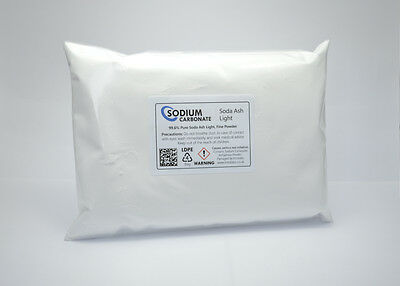Sodium Carbonate Fine Powder 250g - Soda Ash Light