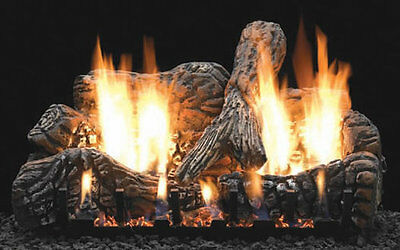 """24"""" Ventfree Clearance Gas Logs, Remote Ready"""
