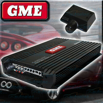 Gme Power Amplifier Amp 1450W 4/3/2 Channel For Car Radio Stereo Audio Ga9800