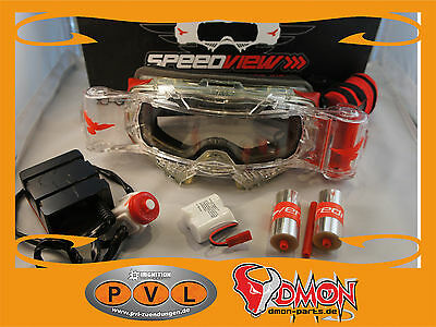 Speedview Brille Roll- Off System Speedview Goggle Autocross Enduro Smith Oakley