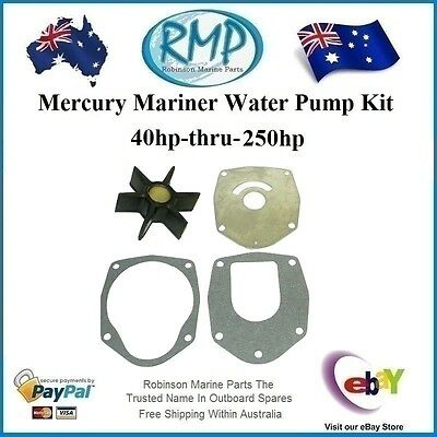 A Brand New Mariner Mercury Outboard Water Pump Kit 40hp-thru-250hp R KIT