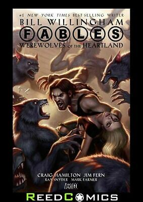 FABLES WEREWOLVES OF THE HEARTLAND HARDCOVER New Hardback
