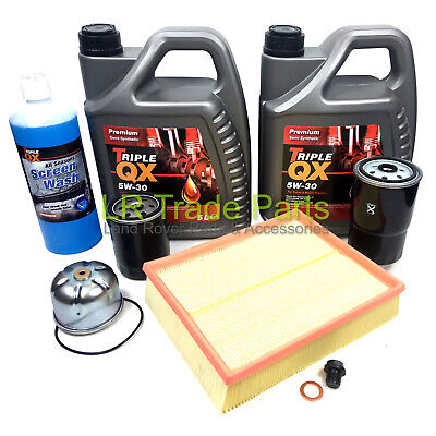 Land Rover Discovery 2 Td5 New Full Service Filter Kit Including Oil, Filters