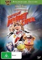 The Great Muppet Caper (50th Anniversary Edition) NEW DVD Region 4 Aust Muppets