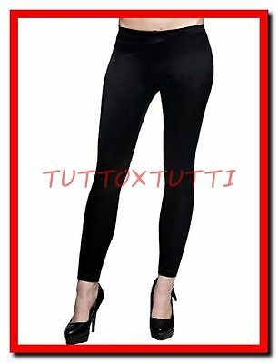 Leggins donna modellante in microfibra pantacollant nero leggings calzamaglia