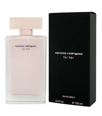 NARCISO RODRIGUEZ FOR HER profumo donna edp eau de parfum 100ml NUOVO ORIGINALE