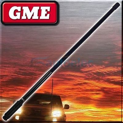 Gme Ae4701B 2.1Dbi Black Heavy Duty Uhf Cb Radio Antenna Bull Bar Fiberglass New