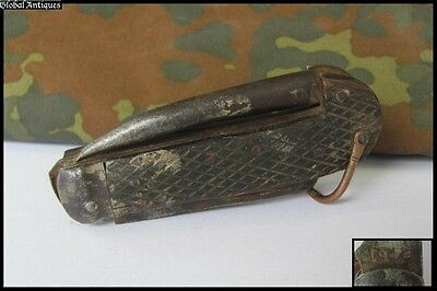 Wwii 1942 Original British Military Marine Navy Folding Knife