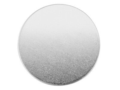 Silver Blanks Rounds Sterling Fully Annealed   5mm to 30mm , 0.5mm +  1mm thick