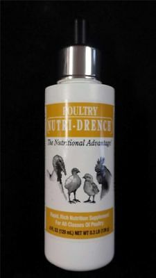 Poultry Nutri-Drench Nutrition Supplement for all classes of Poultry 4oz